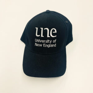 UNE Merch, Grey Cap, University of New England