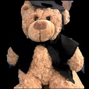 Graduation Bear – Rosie