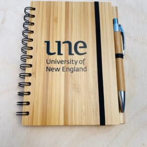 UNE Merch, Bamboo Book, University of New England