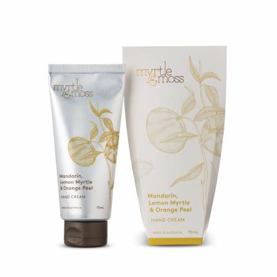 Myrtle & Moss Hand Cream – Mandarin, Lemon Myrtle & Orange Peel