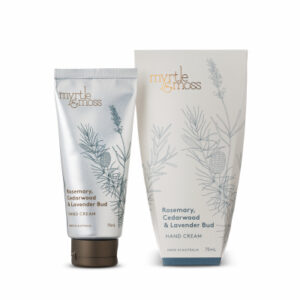 Myrtle & Moss Hand Cream – Rosemary, Cedarwood & Lavender Bud
