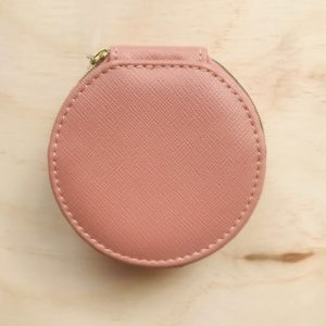 Louenhide Round Jewellery Case Baby Pink, UNE Life, The Shop