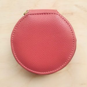 Louenhide Round Jewellery Case Dark Pink, UNE Life, The Shop