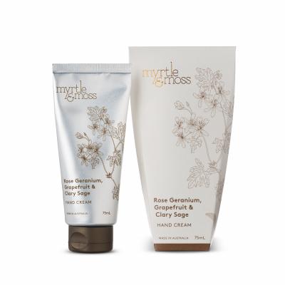 Hand Cream – Rose Geranium, Grapefruit & Clary Sage
