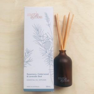 Myrtle And Moss Diffuser Rosemary, Cedarwood, Essential Oil Diffuser