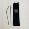 UNE Merch, reusable stainless steel straws, University of New England