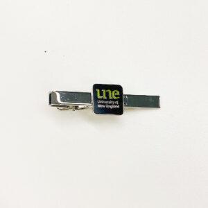 UNE Merch, tie clip, University of New England