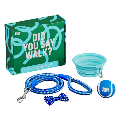 Did You Say Walk? New dog starter kit.