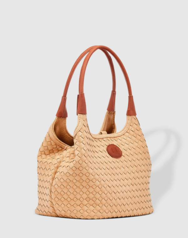 Louenhide Poppet Plait Top Handle Bag – Camel