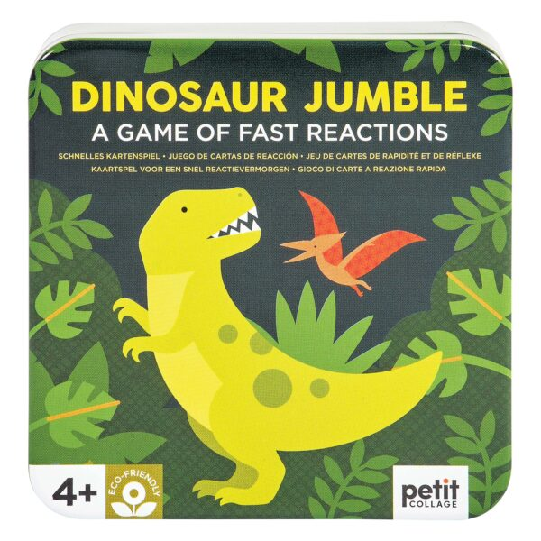 DINOSAUR JUMBLE – A GAME OF FAST REACTION