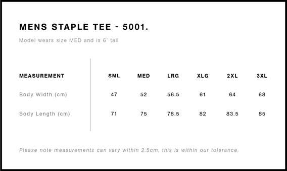 Men's Staple Tee
