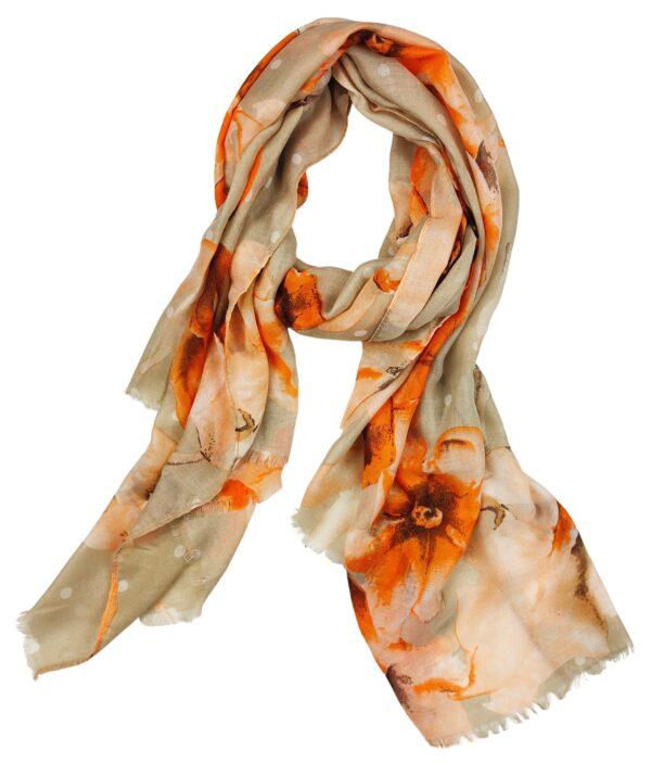 Scarf – Athena Orange