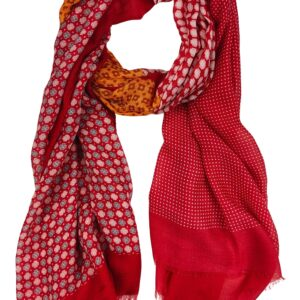Scarf – Lucille Red